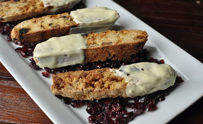 Cranberry, Pecan, and White Chocolate Biscotti Recipe - Momtastic