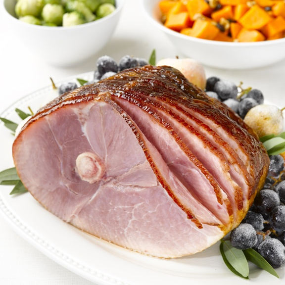 Maple and mustard glazed ham | Food - Savory | Pinterest
