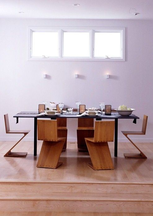 Amazing chairs.