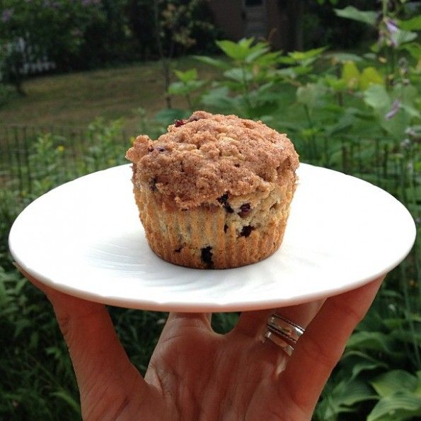 Whole Wheat Wild Blueberry Streusel Muffins | Recipe