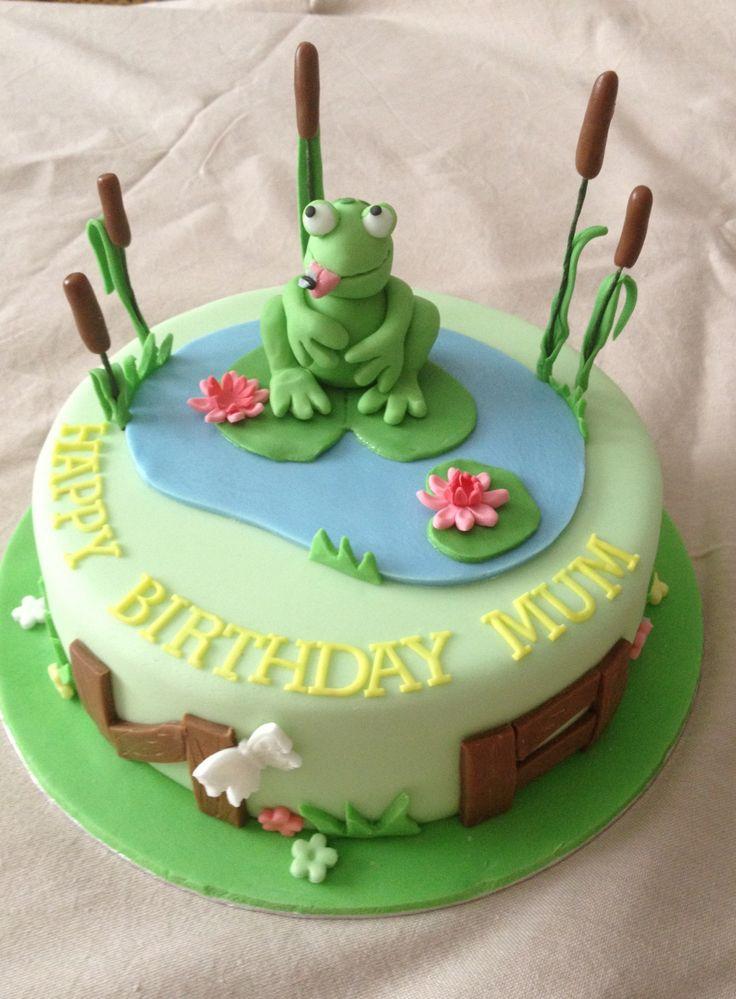Princess And The Frog Lily Pad Lily Pad Princess Cake