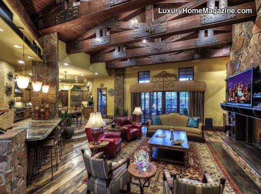 Luxury Home Magazine Arizona Luxury Homes House Room Interior