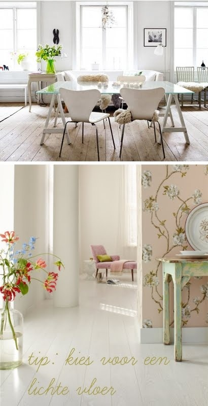 Lichte houten Vloer  Indoor  Pinterest