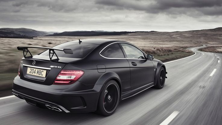 C 63 AMG Black Edition - MB C 204