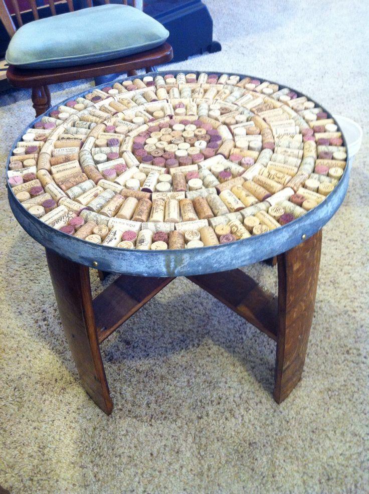 cork table diy crafts pinterest. Black Bedroom Furniture Sets. Home Design Ideas