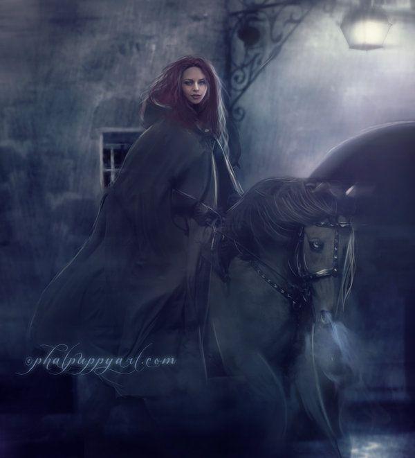 The Midnight Hour  by =Phatpuppyart
