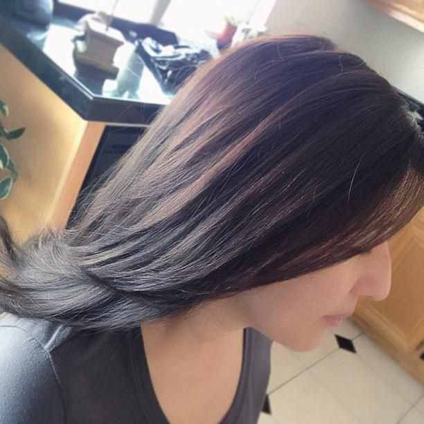 Brown hairstyles with blonde highlights Hairstyle