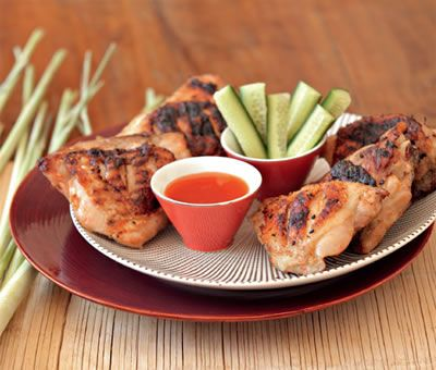 Grilled Lemongrass Chicken | Recipe