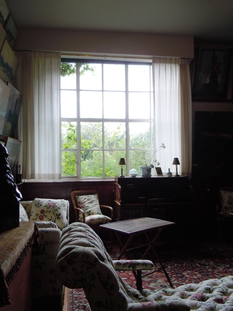 Monet's Home in Giverny, France: First Floor Living Room