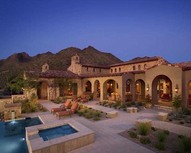 Arizona custom homes beautiful az homes pinterest for Custom home plans arizona