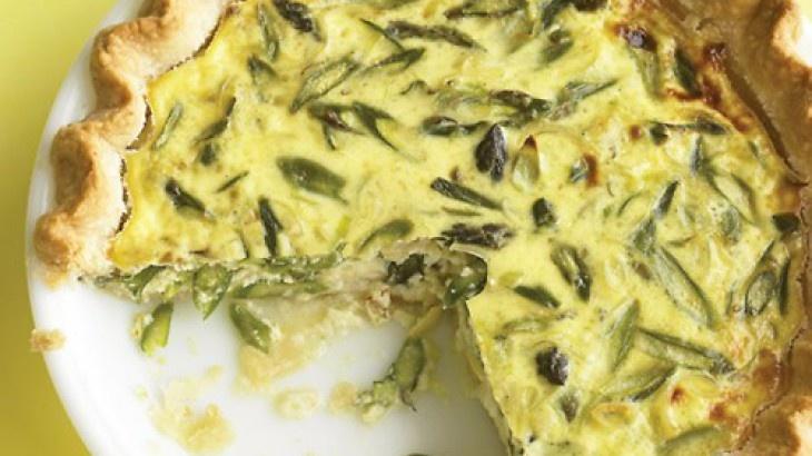 Asparagus, Leek, and Gruyere Quiche | Breakfast/Brunch | Pinterest
