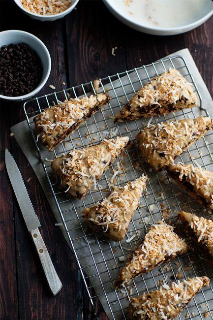 Chocolate Coconut Scones | Recipe