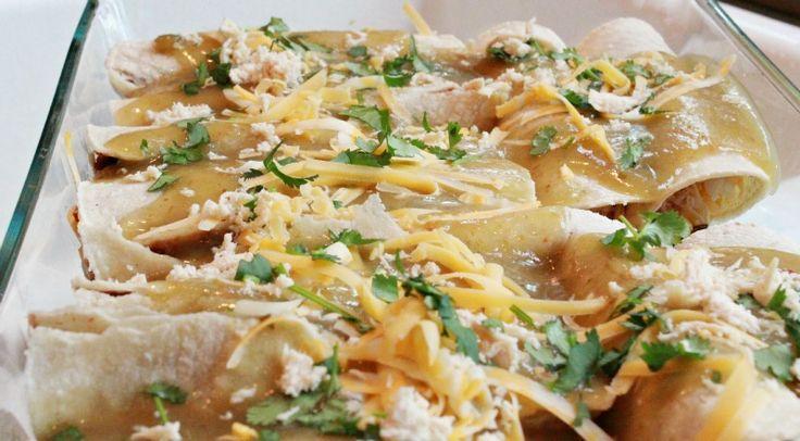 Easy Chicken Enchiladas | Recipes | Pinterest