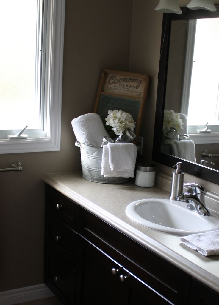 country bathroom decor my house pinterest