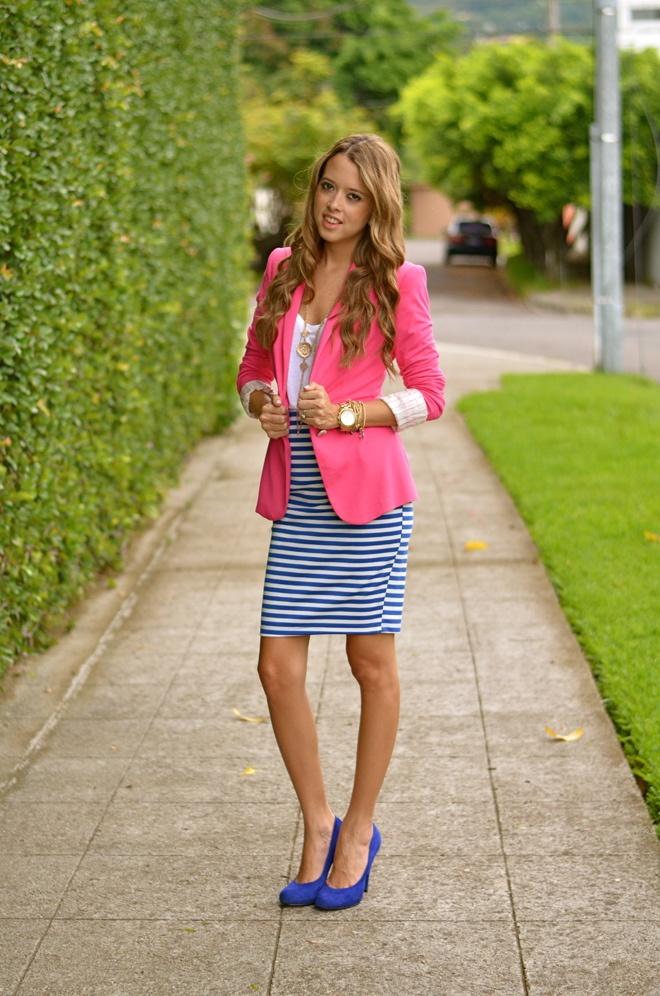 pencil skirt blazer news