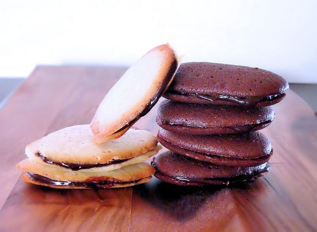 Homemade Milanos - both vanilla and chocolate. From La Petit Brioche