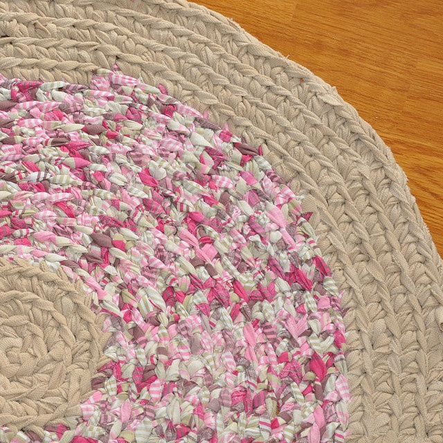 Crocheting A Rug : Crocheted rug! crochet Pinterest