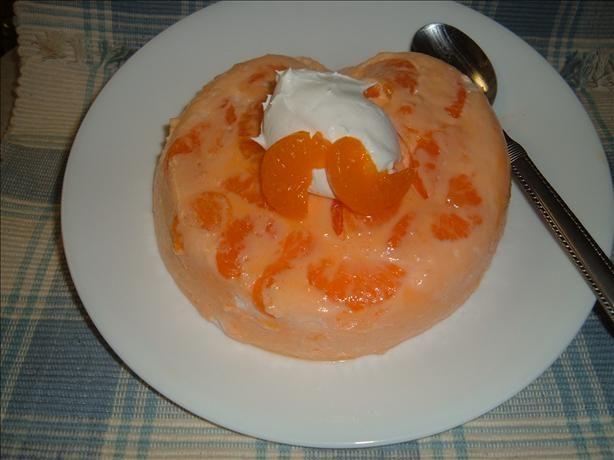 Orange Dreamsicle Mousse.