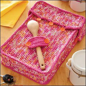 Potluck Cozies Crochet Pattern Book 12 Designs New | eBay