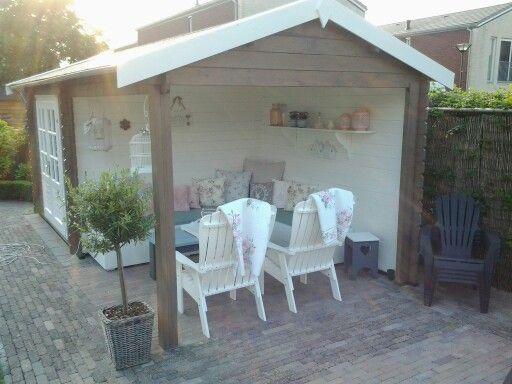 Tuinhuis : Mijn tuin : Pinterest