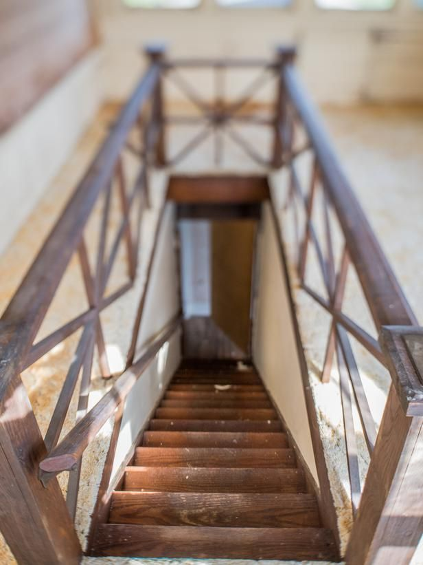 Beautiful old staircase - Blog Cabin 2014: ... | DIY Network Editors'…