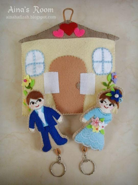 Wedding Gift Ideas Pinterest : Wedding Gift Ideas Felt Craft Pinterest