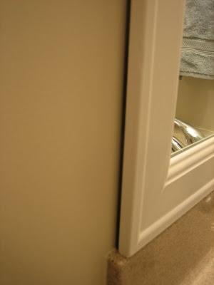 Bathroom Mirror Frame on Elizabeth   Co   Framing Bathroom Mirrors   Diy