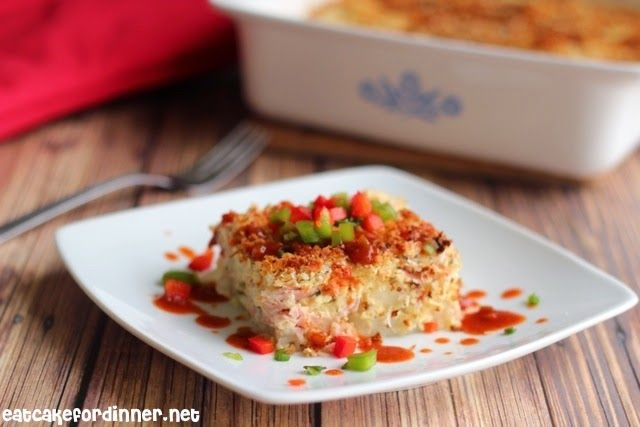 Eat Cake For Dinner: Ham and Cheese Breakfast Casserole