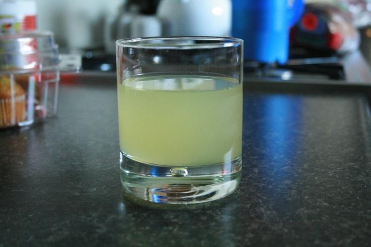 Pineapple-Limeade. Homemade Pineapple-Limeade