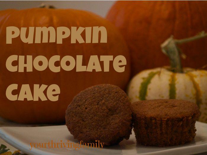 pUmpkin chocolate cake | Desserts | Pinterest