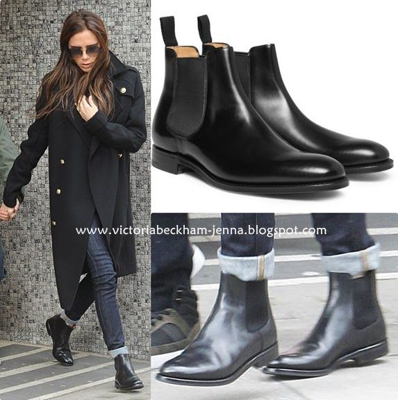 What to wear with navy blue ankle boots