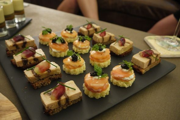 Canap s from chez patrick catering eat and drink around for Canape caterers