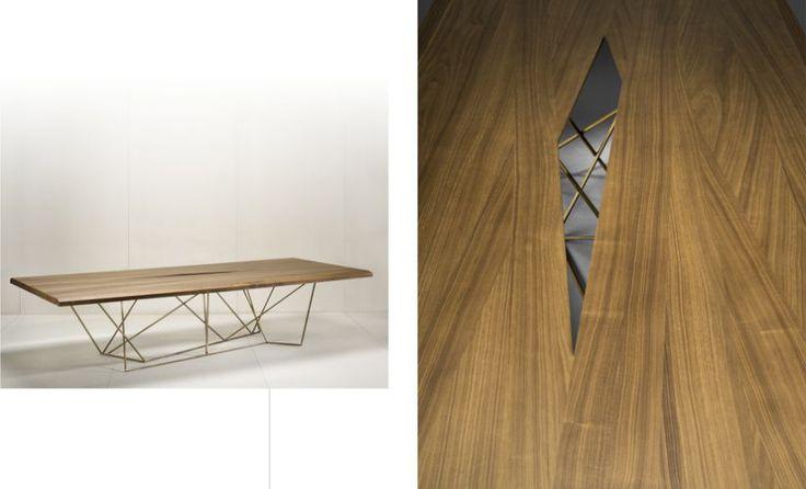 bruno moinard editions asan dining table bruno moinard pinterest. Black Bedroom Furniture Sets. Home Design Ideas