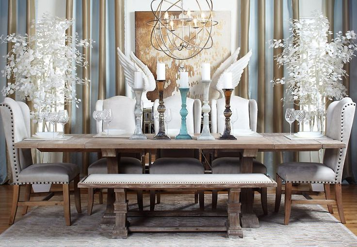 z gallerie archer dining table dining room pinterest