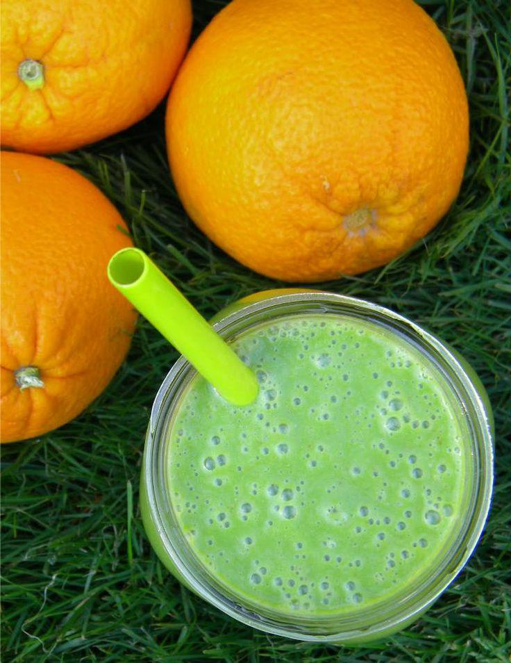 ... VEGGIES: Green Orange Creamsicle Smoothie or an Ode to Orange Julius