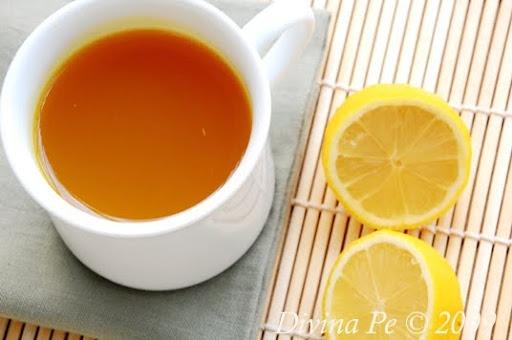 Turmeric, Ginger and Lemon Tonic Tea | Recipes | Pinterest