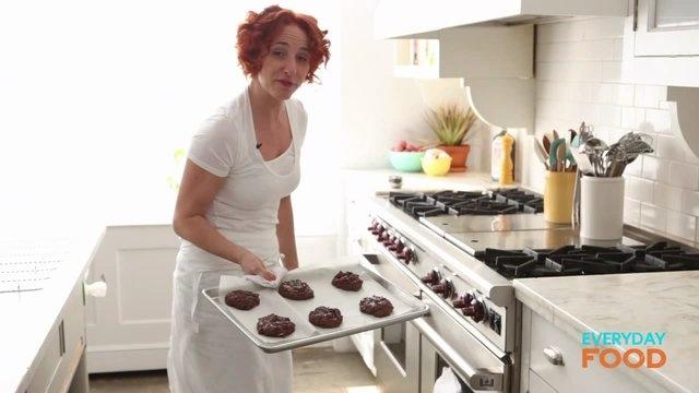 Flourless Double-Chocolate Pecan Cookies - Martha Stewart Recipes