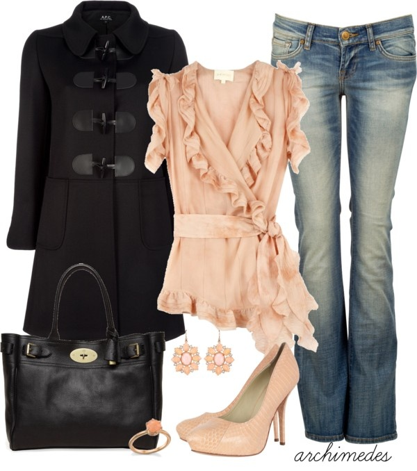 """""""Sweet N' Peachy"""" by archimedes16 on Polyvore"""