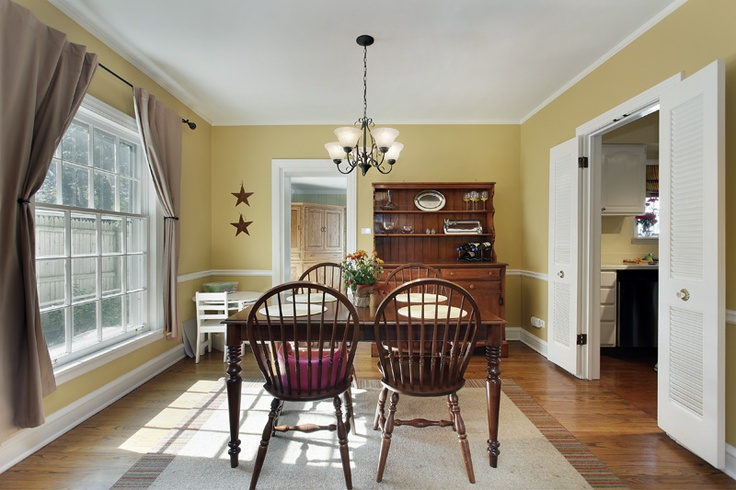 Yellow dining room dining room ideas pinterest for Yellow dining room ideas