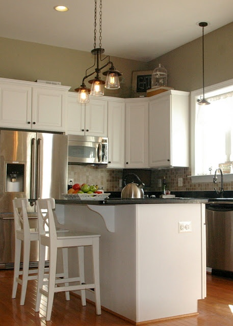 Diy kitchen makeover asap pinterest for Kitchen cabinets 63021