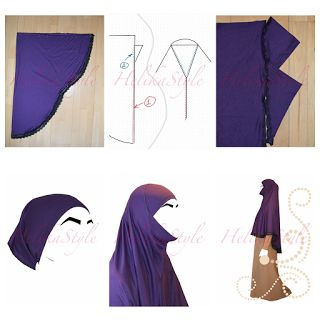 Как сшить султанки хиджаб 43