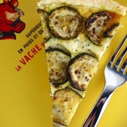 Summery Zucchini Ricotta Feta Tart | Recipes | Pinterest