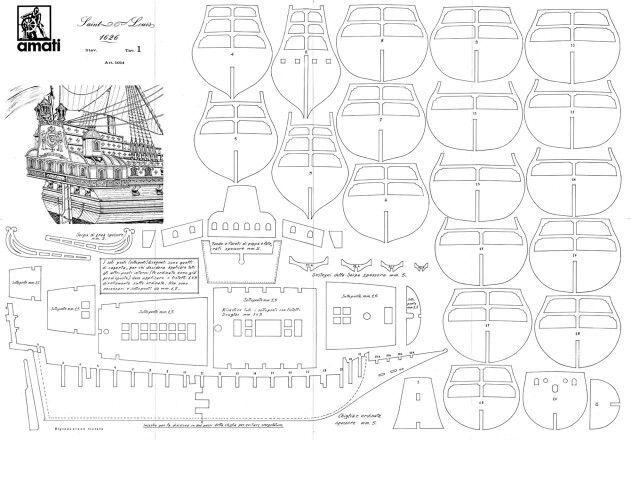 Макет корабля из дерева своими руками чертежи 29