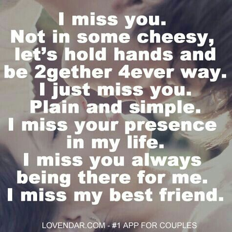 i miss my best friend quotes and sayings - photo #1