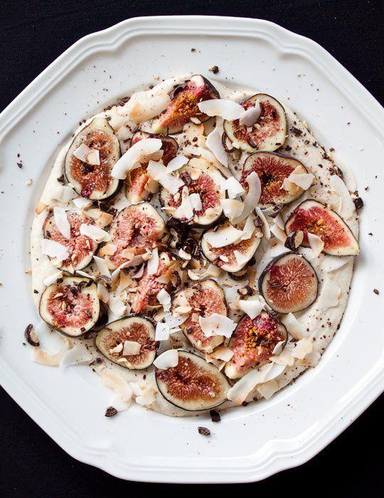 Elegant Raw Recipe: Fresh Figs with Cashew Cream | The Kitchn