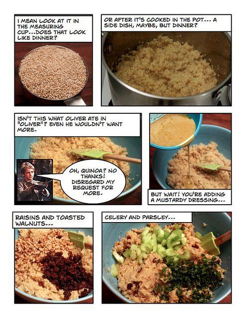 The Quinoa Converter | Food | Pinterest