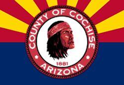 Flag of Cochise County, Arizona. | Cochise - Taza - Naiche - Nino Coc ...