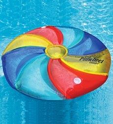 Swimline® Pinwheel Inflatable Island Pool Lounger