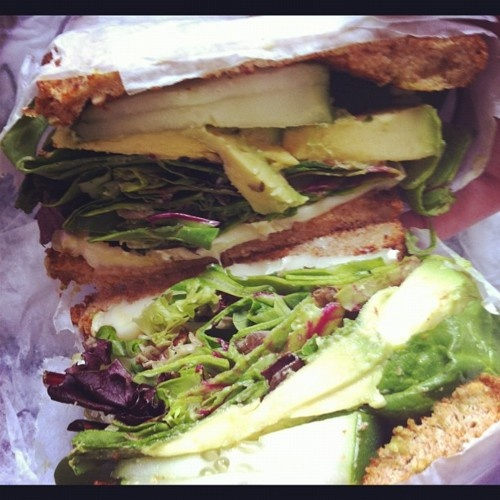 sandwiches with mint cucumber sandwiches ham brie and apple triple ...
