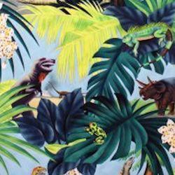 Michael Levine dinosaur fabric